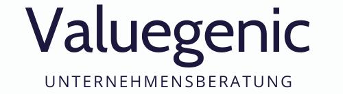 Logo Valuegenic Unternehmensberatung Neue Geschäftsmodelle Nebenberufliche Gründung